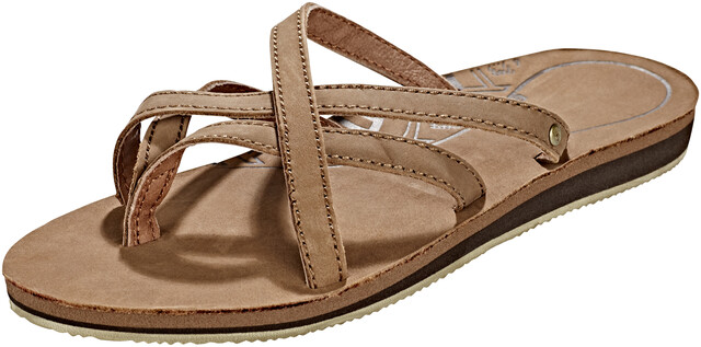 Teva Olowahu Leather Sandaler Damer, bison